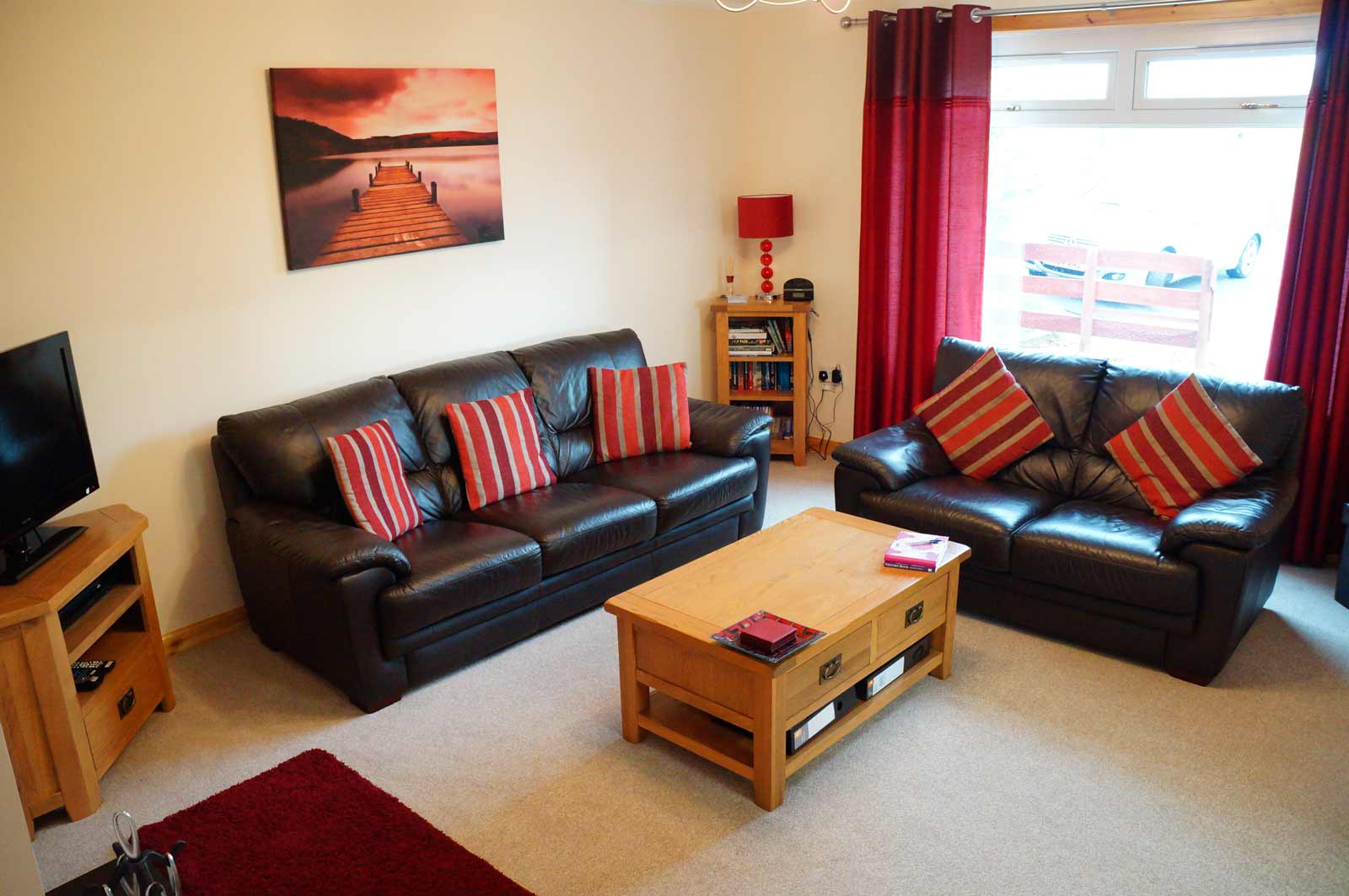 holiday cottage strathpeffer living room